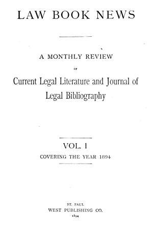 Law Book News PDF