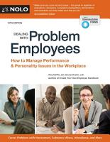 Dealing With Problem Employees PDF
