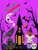 Halloween Coloring Book for Kids Book