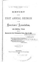 Report of the     Annual Reunion of the Survivors  Association  23d Penna  Vols PDF