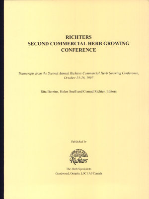 Richters Second Commercial Herb Growing Conference