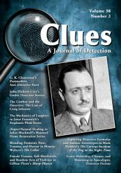 Clues A Journal Of Detection Vol 38 No 2 Fall 2020  Book PDF