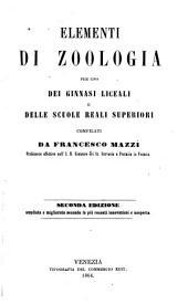 Elementi di zoologia. 2. ed