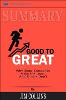 Summary  Good to Great PDF