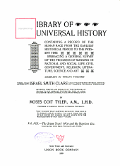 Library of Universal History Vol.VIII