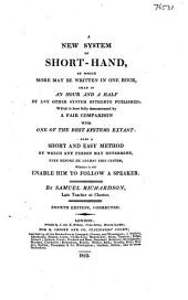 A new system of short-hand