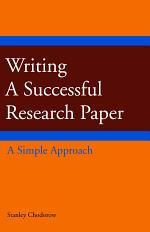 Writing a Successful Research Paper