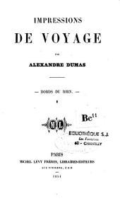Impressions de voyage: Volume1