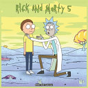 Rick And Morty 5 Wall Calendar 2021