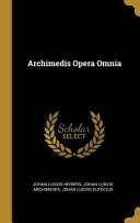 Archimedis Opera Omnia PDF