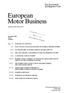 European Motor Business