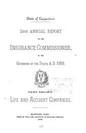 Annual Report of the Insurance Commissioner of Connecticut: Part 2