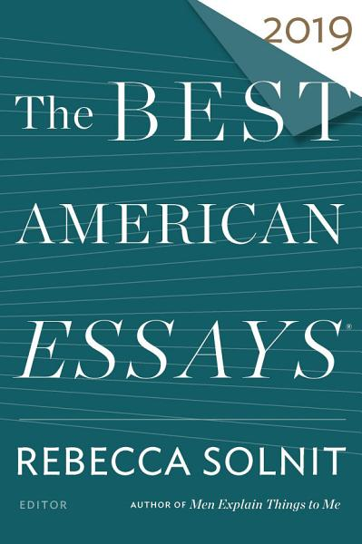 Download The Best American Essays 2019 Book