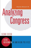Analyzing Congress