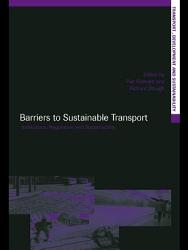 Barriers to Sustainable Transport PDF