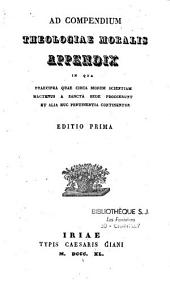 Medulla theologiae moralis, S. Alphonsi Maria de Ligorio sive Medulla Theologiae moralis...