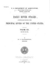 Daily river stages at river gage stations on the principal rivers of the United States: Volume 19