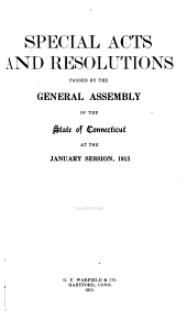 Public Acts Passed by the General Assembly