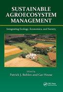 Sustainable Agroecosystem Management