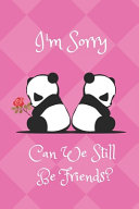 I m Sorry  Can We Still Be Friends  PDF