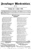 Freisinger Wochenblatt PDF