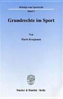 Grundrechte im Sport PDF