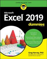 Excel 2019 For Dummies PDF