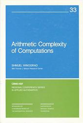 Arithmetic Complexity of Computations