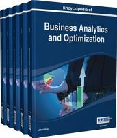 Encyclopedia of Business Analytics and Optimization PDF