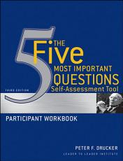 The Five Most Important Questions Self Assessment Tool PDF