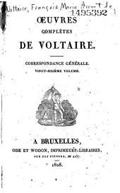 Oeuvres complétes de Voltaire: Vie de Voltaire, Volume125