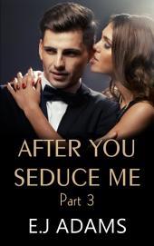 After You Seduce Me Part 3: An Alpha Billionaire Romance