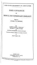 Download Index catalogue of Medical and Veterinary Zoology Book