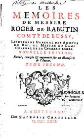 Les mémoires de Messire Roger de Rabutin, comte de Bussy (1618-1666)