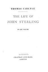 The life of John Sterling