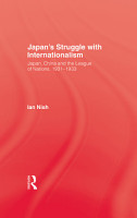 Japan s Struggle with Internationalism PDF
