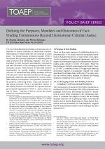 Defining the Purposes, Mandates and Outcomes of Fact-Finding Commissions Beyond International Criminal Justice