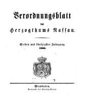 Verordnungsblatt des Herzogtums Nassau: Band 57