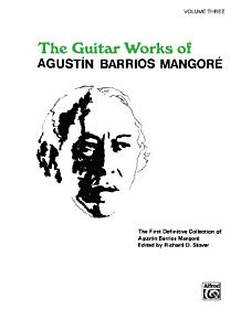 Guitar Works of Agust  n Barrios Mangor    Vol  3 PDF