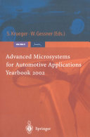 Advanced Microsystems for Automotive Applications Yearbook 2002