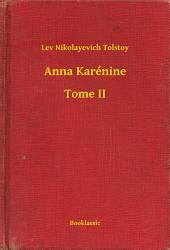 Anna Karénine -: Volume2