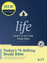 KJV Life Application Study Bible, Third Edition (Red Letter, Hardcover, Indexed)