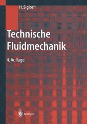 Technische Fluidmechanik: Ausgabe 4