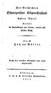 Johannes von Müller sämmtliche Werke: Band 26