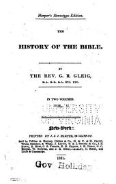 The History of the Bible: Volume 2
