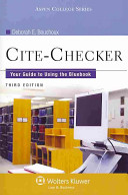 Cite checker PDF