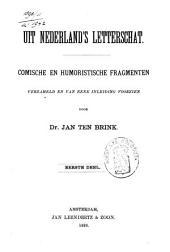 Uit Nederland's letterschat: comische en humoristische fragmenten