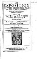 The Works of Iohn Boys  Etc PDF