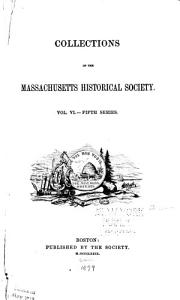 Collections of the Massachusetts Historical Society Book