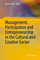 Management  Participation and Entrepreneurship in the Cultural and Creative Sector PDF
